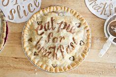 Eat Pie for Breakfast