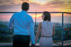 Свидание на крыше в Москве. Красивый закат/Romantic rooftop date in Moscow. Beautiful sunset#rukaiserdce #рукаисердце #свидание #предложение #date #proposal #engagement #surprise #romantic