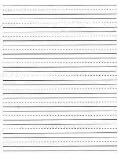Second Grade Lined Paper | manuscript paper small classic ...