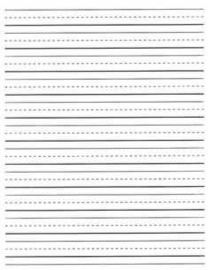 Improving Handwriting Skills   Proaction Clinic Indulgy     primary and intermediate lined paper   View Sample