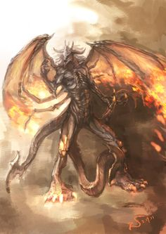Typhon - (a.k.a. Typhaon, Typhoeus, Typhus) Greek god of monsters, storms, and volcanoes.
