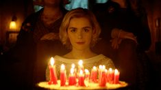 The creators of CW's Riverdale are taking their creepy comic book reimaginings to Netflix with The Chilling Adventures of Sabrina, which will be available to stream on Oct. And fans of the beloved series Sabrina the Teenage Witch, beware:… Shows On Netflix, Netflix Series, Movies And Tv Shows, Tv Series, Netflix Releases, Film Gif, Film Serie, Edward Snowden, Bridget Jones