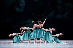 Emeralds by George Balanchine for Paris Opera Ballet