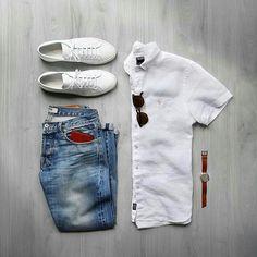 Chubster loves accessories - Plus Size Men fashion - Mode homme grande taille - Accessoires pour homme - - - - - - - - - - - - - - Mode Outfits, Casual Outfits, Men Casual, Fashion Outfits, Mode Masculine, Mode Man, Look Jean, Moda Blog, Mens Attire
