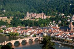 Heidelberg, Baden-Württemberg-Al proposed to me in the castle turret Oh The Places You'll Go, Great Places, Places Ive Been, Places To Visit, Travel Sights, Places To Travel, Beautiful Castles, Beautiful Places, Merian
