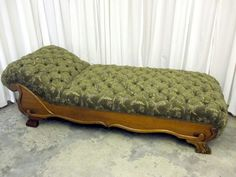 Antique Tufted Fainting Couc Somewhat Like Mine Couch Sofa