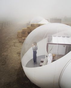 Glamp and relax at this bubble hotel in Baja California - Campera Hotel. | Photo: Nate Cole