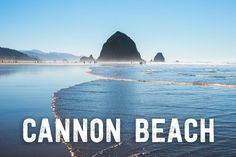 Road trip to Cannon Beach to see the famous Goonies rock