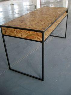 Custom Made OSB desk by Loftmen on CustomMade.com