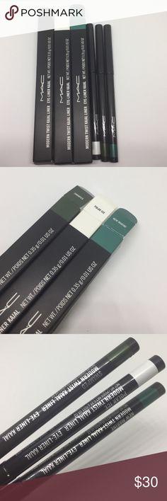 Mac modern twist kajal eyeliner set of 6 Mac modern twist kajal eyeliner set of 6 MAC Cosmetics Makeup Eyeliner