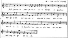 gryllus dalok kottája - Google keresés Sheet Music, Advent, Playlists, Flute, Education, Happy, Christmas, Musica, Noel