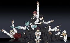 Kekkai Sensen - Death Parade crossover