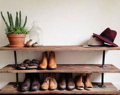 Garage Shoe Storage, Wall Mounted Shoe Storage, Wood Shoe Storage, Wood Shoe Rack, Shoe Rack Bench, Diy Shoe Rack, Shoe Shelves, Bench With Shoe Storage, Cubbies