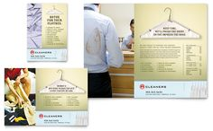 Laundry & Dry Cleaners - Flyer & Ad Template Design