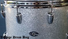 Classic Slingerland Vintage 10x14 Tom Silver Sparkle G VG Cond Grab It Now | eBay