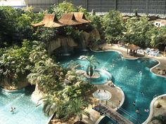 Have you ever heard of Europe's largest holiday world? Click through to find out more about the Tropical Islands Resort in Berlin, Brandenburg.