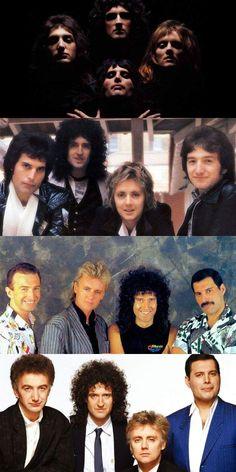 Freddie Mercury, Brian May, Roger Taylor, John Deacon Discografia Queen, Queen Band, I Am A Queen, Save The Queen, Queen Brian May, Queen Pictures, Queen Photos, John Deacon, Avatar Art