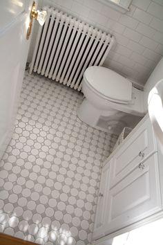 remodeled bathroom tile floor diy del ray flickr