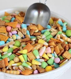 spring chex mix ~ yes please!