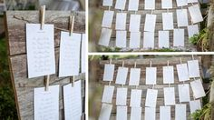 plan de table planches en bois Wedding Table Assignments, Table Cards, Table Plans, Decoration, Trees To Plant, Wedding Inspiration, How To Plan, Holiday Decor, Julie