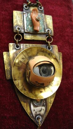steampunk eye assemblage