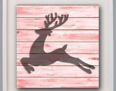 Browse unique items from FKArtDesign on Etsy, a global marketplace of handmade, vintage and creative goods. Bathroom Wall Art, Nursery Wall Art, Girl Nursery, Bedroom Wall, Deer Wall Art, Moose Art, Playroom Art, Rustic Decor, Shabby