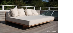 For the pool deck Form Architecture, Pool Waterfall, Pool Decks, Outdoor Furniture, Outdoor Decor, Custom Design, Valentine Ideas, Bed, Spaces