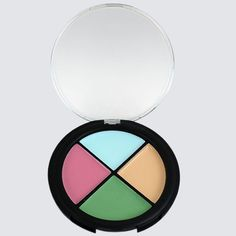 FREE SHIPPING Ingredients: Squalane, Octyl Palmitate, Beeswax, Talc, Polymethyl Methacrylate, Petrolatum, Propylparaben. May Contain: Titanium Dioxide, Iron Oxides Our innovative Color Corrector Quad contains four creamy hues to conceal and correct any flaw. All four shades are stored in our tr...