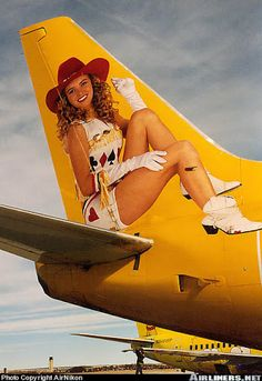 Cola muy de Las Vegas de Western Pacific Airlines