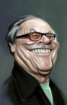 Jack Nicholson  (Artist: Marco Calcinaro)