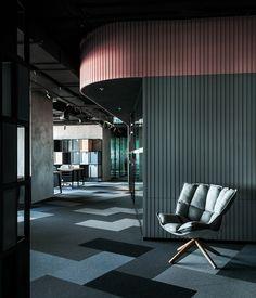 Workki Федерация. Дизайн офиса: интерьеры, материалы, мебель, акустика. Коворкинги. БЦ.