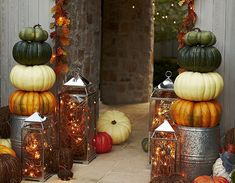 Fall Porch Decor & Outdoor Fall Decor | Pottery Barn