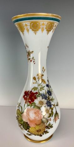 Buy online, view images and see past prices for A LARGE C. Invaluable is the world's largest marketplace for art, antiques, and collectibles. Kitchen Ornaments, Blenko Glass, Business Checks, Antique Auctions, Opaline, Porcelain Vase, Cup And Saucer Set, Glass Art, Coffee Break