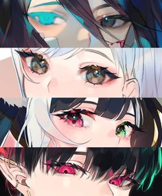Anime Drawings Sketches, Anime Sketch, Cool Drawings, How To Draw Anime Eyes, Manga Eyes, Anime Eyes Drawing, Art And Illustration, Pretty Art, Cute Art