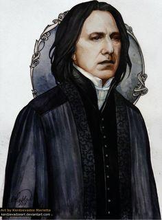Severus Snape by KerdzevadzeART on DeviantArt