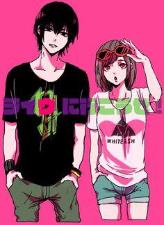 Tokyo Ghoul- Ayato and Hinami