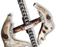 TOBBE MALM metalArt TubalCain guitars-Holy Cow Malm, Guitars, Cow, Scrap, Music, Musica, Musik, Cattle, Muziek