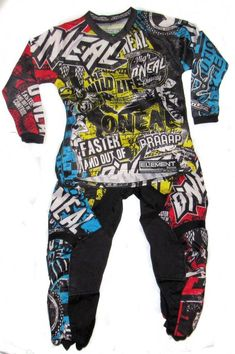 2e92e0d32 ONeal Element Series Motocross Dirtbike Jersey Pants Kids Youth Combo  #ONeal Motocross Outfits, Kids