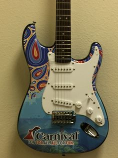 Custom Promotional Guitars by Brand O' Guitar Company.