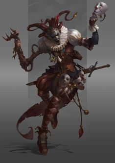 Der Hofnarr Alexey Kruglov You are in the right place about character design male hot Here we offe. Dark Fantasy Art, Fantasy Concept Art, Fantasy Character Design, Fantasy Artwork, Character Design Inspiration, Character Art, Fantasy Demon, Fantasy Inspiration, Monster Concept Art