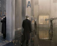 Derrière les murs • Paolo Ventura