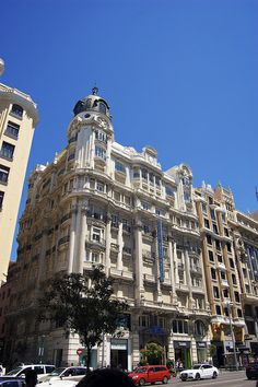 Beautiful Architecture of Madrid, Spain