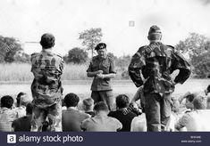 military, Congo, army, mercenaries, training, instruction by Major Michael Mad Mike Hoare, Kamina, Katanga province, 24.9.1964