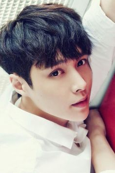 Puppy eyes why so cute? Why is he doing this to my heart? #Yixing #Lay #EXO