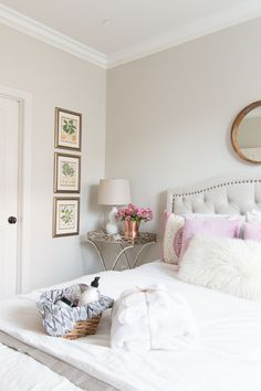 Sharing our guest room reveal today. It's a mix of neutrals, textures and patterns. I'm also sharing my best tips for creating a luxurious retreat.
