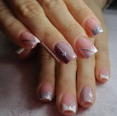 Diy Acrylic Nails, Acrylic Nail Designs, Nail Art Designs, Cute Nail Colors, Cute Nails, My Nails, Nail Spa, Manicure And Pedicure, Magic Nails