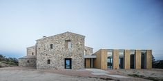 05 AM arquitectura, Adrià Goula · Rebuild and extension of a Country House
