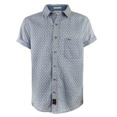 M-ONE-11 / Boys Webby Denim Shirt
