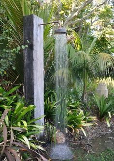 Dishfunctional Designs: Amazing Outdoor Baths and DIY Garden Showers