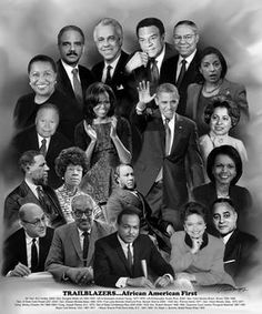 This montage is a tribute to historic and pioneering African-American politicians that paved the way for Barack Obama, the first Black president of the USA. Black Presidents, American Presidents, Black History Facts, Black History Month, First Black President, Black Art Pictures, Color Pictures, Vintage Pictures, Beautiful Pictures